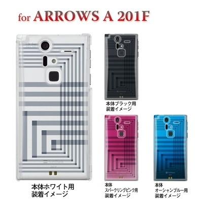 【ARROWS ケース】【201F】【Soft Bank】【カバー】【スマホケース】【クリアケース】【トランスペアレンツ】【アングル】 06-201f-ca0021rの画像