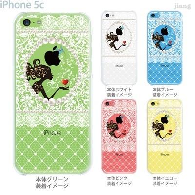 【iPhone5c】【iPhone5cケース】【iPhone5cカバー】【iPhone ケース】【クリア カバー】【スマホケース】【クリアケース】【イラスト】【クリアーアーツ】【ハート】【レース】【フェミニン】 01-ip5c-zec058の画像