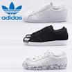 【16年新作】【日本最安値】Adidas オリジナルス[SUPERSTAR 80S METAL TOE W]【16年新作】WHITE/ホワイト/S76540/BLACK/ブラック/S75056/【正規品】スーパースター80s メタルトゥ/adidas SUPERSTAR MARBLE アディダススーパースターマーブル AQ4659/AQ4658/送料無料