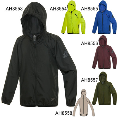 アディダス (adidas) M CLS撥水ウインドジャケット BCZ93 [分類:ランニング ウインドジャケット (ユニセックス)] 送料無料の画像