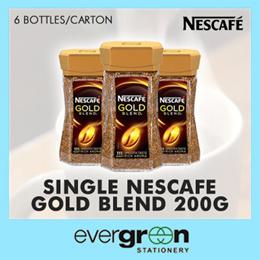 Single Nescafe Gold Blend 200g/bottle