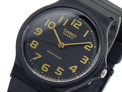 【箱無し】カシオ CASIO クオーツ 腕時計 MQ24-1B2L ブラックの画像