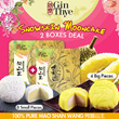 [Collect Later!! Till October 2017] 2 Boxes ONLY $59.90 !!!! [100% Pure Mao Shan Wang Snow Skin Mooncake ] by Gin Thye