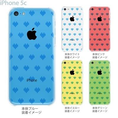 【iPhone5c】【iPhone5c ケース】【iPhone5c カバー】【ケース】【カバー】【スマホケース】【クリアケース】【クリアーアーツ】【デジタルハート】 47-ip5c-tm0010の画像