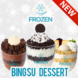 [NEW!] Frozen Korean Dessert Cafe at Clementi Cityvibe. $6 for $10 worth of Cash Voucher for Snow Flakes - Bingsu Dessert.
