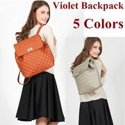 New Collection Violet Backpack - Tas Ransel Wnita - tas wanita 4 Warna
