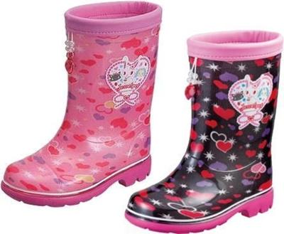 (A倉庫)ロンプジュエルペット 03 子供長靴 レインシューズ キャラクター レインシューズ キッズ レインブーツ 女の子の画像