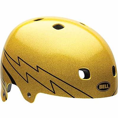 ベル(BELL) ヘルメット SEGMENT / セグメント ACTION ゴールド/フリーク500 【自転車 サイクル レース 安全 二輪】の画像