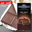 [Ghirardelli Chocolates] 50% OFF! Limited Stocks ONLY! Intense Dark Sea Salt Soiree Bar