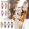 11色レディース 腕時計 革ベルト 高品質 激安 ウォッチ アクセサリー ブレスレット レザー ゴールド シンプル アナログ 高級