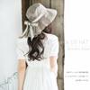 エレガントな雰囲気たっぷり、首の紫外線をカット!57.5cm/61cm メール便送料無料【商品名:首までUVハット】UV 紫外線対策 帽子 レディース 大きいサイズ 、帽子 メンズ 大きいサイズ