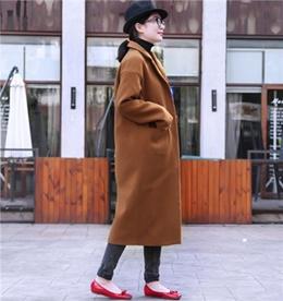 レディース/ファッション/長袖/ロングコート/冬/ストリート/秋/トップス/ジャケット/トレンチコート/アウター