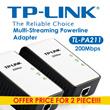 ★ TP-LINK TL-PA211 AV200 Mini Multi-Streaming Powerline Adapter 2 Pcs OFFER NOW ★