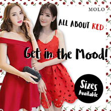 CNY PROMO RED dress/ New Year dress /festival dress/PARTY DRESS/TOPS/ dinner dress/ buy 2 free shipping/best price