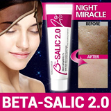[HOT]One Night Miracle Cream ◆ BETA-SALIC 2.0 ◆ Leave-on Exfoliant Cream // Acne Relief / Mild Peeling / Skin Clearing / Smooth Flawless Skin