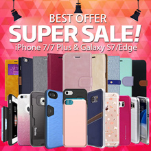 [Super Sale]★iPhone 77/Plus/6S/GalaxyS7/Edge/J7Prime/S7/Edge/S6/A5/A7/2017/Note5/4/3/G5/V20 Casing!!