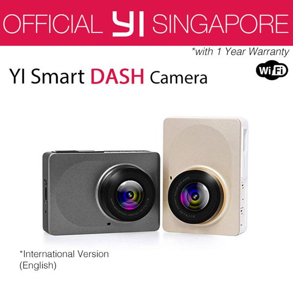 [Official Xiaoyi SG]?English International Version XiaoYi YI Dash Camera Car DVR XiaoMi? Deals for only S$149 instead of S$0