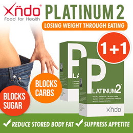 [1+1 Deal] - Platinum2 Tablet - Double Blocking Carbs
