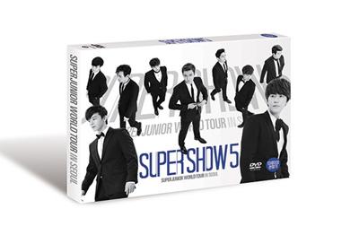 SuperJunior(スーパージュニア)-WorldTourInSeoul[SuperShow5](2DVD)/地域コードAll/日本語字幕