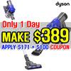 Dyson DC35 Digital Slim Vacuum cleaner / Wireless cleaner /2 years warranty
