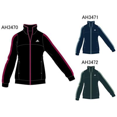 アディダス (adidas) レディース Separates 3st ジャージ ジャケット KAZ40 [分類:ジャージ 上 (レディース)] 送料無料の画像