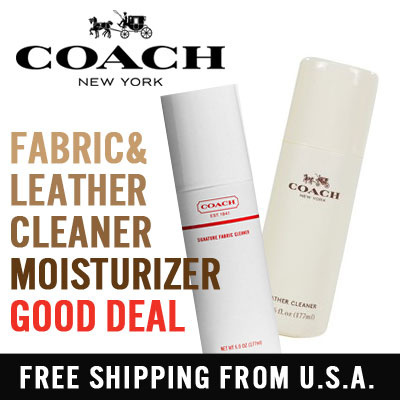 coach leather and fabric cleaner leather moisturizer for handbags and wallets premium quality - Coach Cleaner