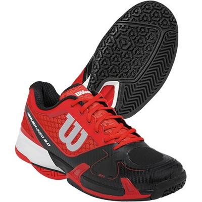 ウイルソン(Wilson) メンズ ラッシュ プロ2.0(RUSH PRO 2.0) RD/BK/WH WRS320550U 【テニスシューズ フットウェア オムニコート ウィルソン】の画像