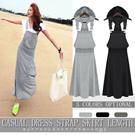 [送料無料]セール!カジュアルなタンクトップドレス、つりスカート、ロングスカート、ゆったりドレス、ワンピース、カートMM28