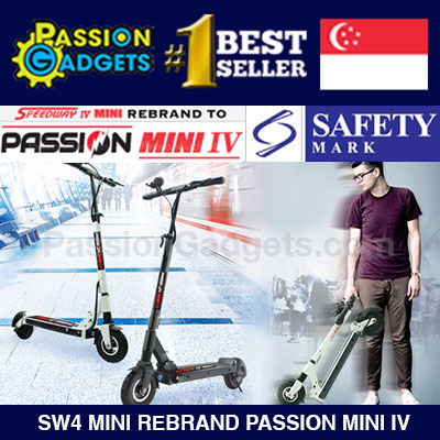 ?Authorised Seller? Speedway3/4 Mini aka Passion MINI 4 LTA Compliance Speedway SW3 SW4 Deals for only S$1300 instead of S$0