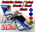 NEW ARRIVALS!!! Foldable Relax / Lying / Beach / Deck Chair.