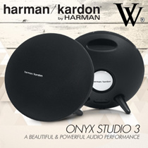 Harman Kardon Aura/Onyx Studio 3 Esquire Portable Wireless Speaker and Conferencing System / Dual MI