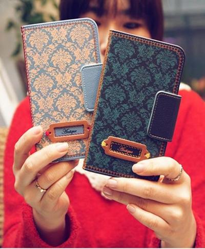 【iPhone/GALAXY/GALAXY Note/LG G2ケース】Mr.H Antipue mood Diary (アンティーク ムードダイアリー)オリジナル ハンドメイド【レビューを書いてネコポス送料無料】の画像