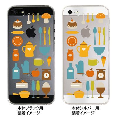 【iPhone5S】【iPhone5】【Clear Fashion】【iPhone5ケース】【カバー】【スマホケース】【クリアケース】【スイーツ】 09-ip5-sw0003の画像