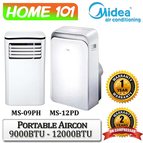 Midea Portable Aircon 9000BTU Deals for only S$599 instead of S$0