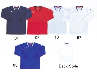 プーマ (PUMA) v-kon ジュニア長袖ゲームシャツ 862160 [分類:サッカー ユニフォーム・ゲームシャツ]の画像