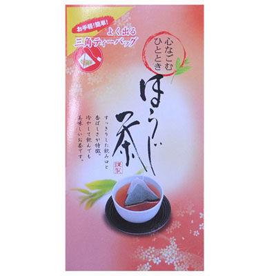 鈴木園ためしてガッテン☆ほうじ茶よく出る三角ティーバッグ(5g×20)SZK-FUNCHA-HOUJI