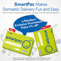 [SINGPOST] SmartPac is a pre-paid postal service for domestic delivery.