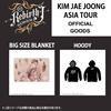 【即発送可能】JYJ ジェジュン 2017 THE REBIRTH OF J ASIA TOUR 公式グッズ BIG SIZE BLANKET / HOODY