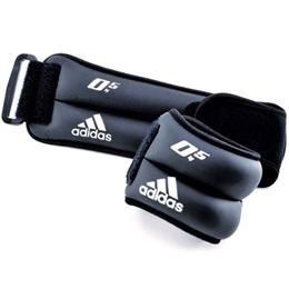 アディダス(adidas) アンクル/リスト・ウエイト 0.5kg×2個 ADWT-12227 【筋トレ トレーニング ウォーキング 足首 手首】