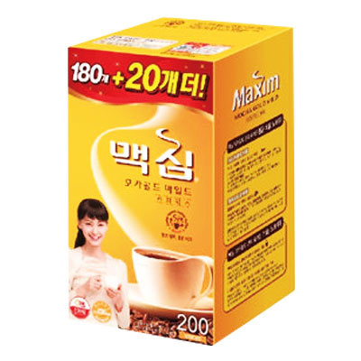 ■韓国食品■[インスタントコーヒー]■『東西』Maxim モカゴールドコーヒーミックス(180包+20包・業務用)■の画像