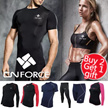[★Buy 2 Get 1 Free gift★]Korean Fashion Super Sale!  compression wear YOGA rash guard Fitness