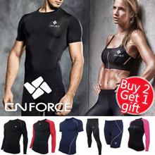 [★Buy 2 Get 1 Free gift★]Korean Fashion Super Sale! KOREA compression wear YOGA rashguard Fitness swimwear