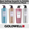 Goldwell Kerasilk Salon Premium Shampoo Conditioner Masks 1000ML ►Volume►Color►Reconstruct►Control