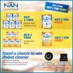 Nestle NAN GRO 3 OR KID 4 Growing Up Milk 900gx5 + 1 FREE (FREE GIFT)