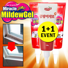 ★Miracle Mildew Gel 1+1★99.9% removal/Bathroom/kitchen/Mildew/Silicon mold removal/Sodium hypochlorite/sodium hydroxide/non-ionic surfactants/distillation point/cleaner/gobiz-121