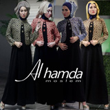 KOLEKSI BATIK HIJAB SET BY VOZASHOP/ DRESS MUSLIM/ GAMIS/ BAJU MUSLIM WANITA/ KAFTAN/LONG DRESS/PAKAIAN WANITA baju gamis busana muslim fashion hijab jilbab pakaian wanita