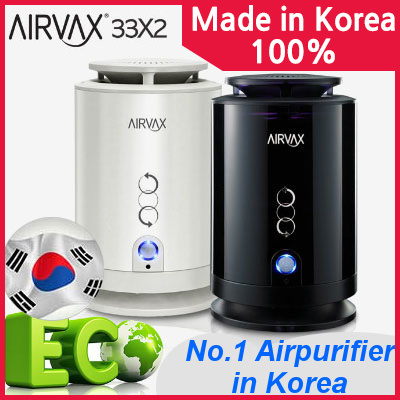 [AIRVAX] 33X2 MADE IN KOREA Air purifier SEFF filter l SEFF air cleaner system l Europe Allergy Certification l Haze l Zika l Mosquito l Mosquito repellment l Baby
