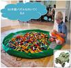 【国内発送/送料無料】片付け上手 おもちゃ 収納 マット  3D 木製 模型 付き 【Bluestarz13923オリジナルセット販売商品】