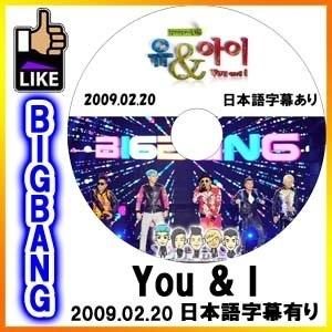【韓流DVD K-POP DVD 韓流グッズ 】 BIGBANG ビッグバン You & I ユーアンドアイ 韓国音楽トークショー / TOP G-DRAGON SOL V.I D-LITEの画像
