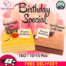 1KG Mango Delight Or Chocolate Truffle Cake (Birthday Special) Usual $58.00